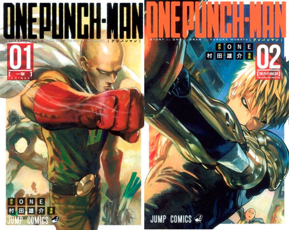 One-Punch Man front cover