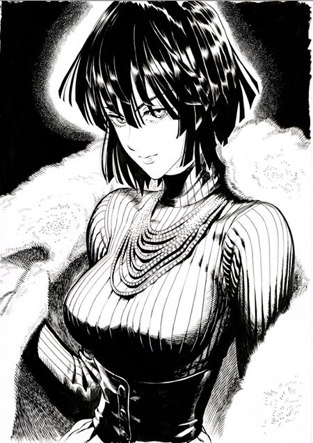 Fubuki full-length picture