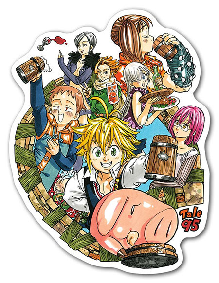 The Seven Deadly Sins main characters