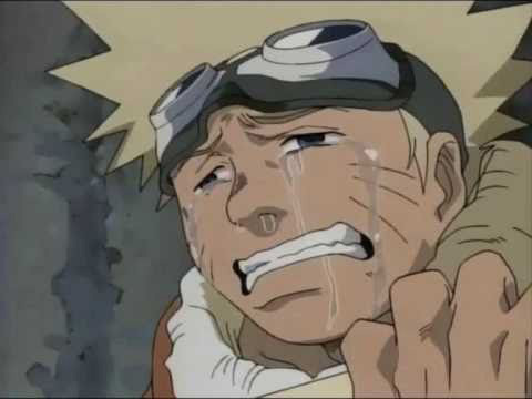 Naruto is crying