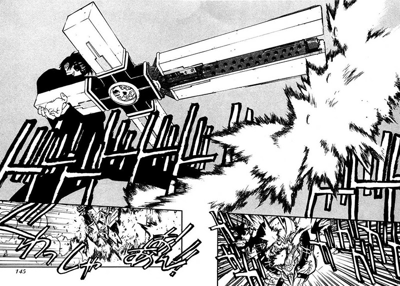 Nicholas D. Wolfwood fighting
