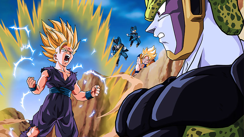 The illustration from Dragon Ball 4