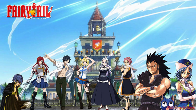 The illustration from Fairy Tail 2