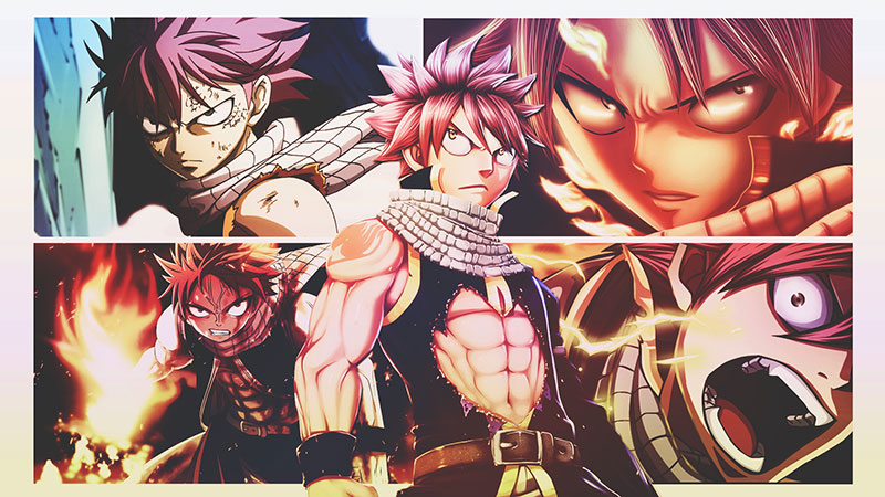 The illustration from Fairy Tail 3