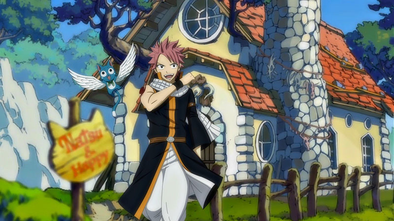 The illustration from Fairy Tail 4