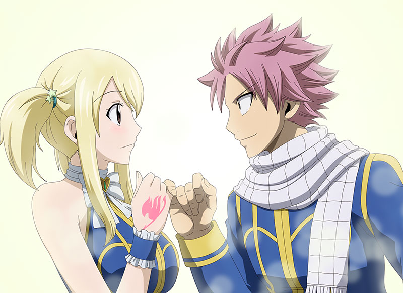 The illustration from Fairy Tail 5
