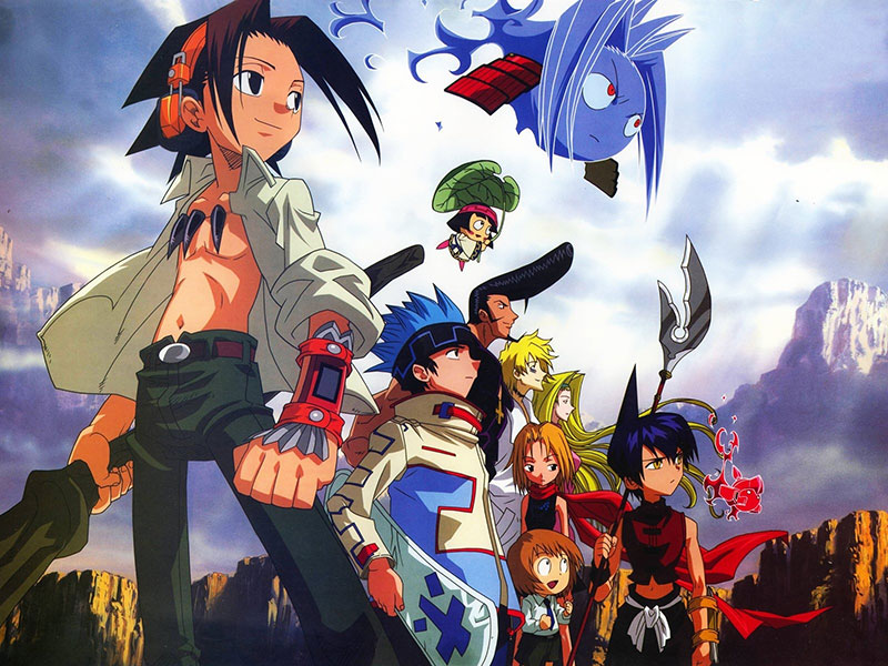 The illustration from Shaman King 1