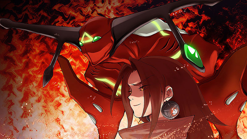 The illustration from Shaman King 3