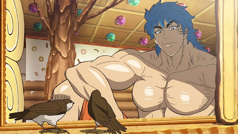The illustration from Toriko 1