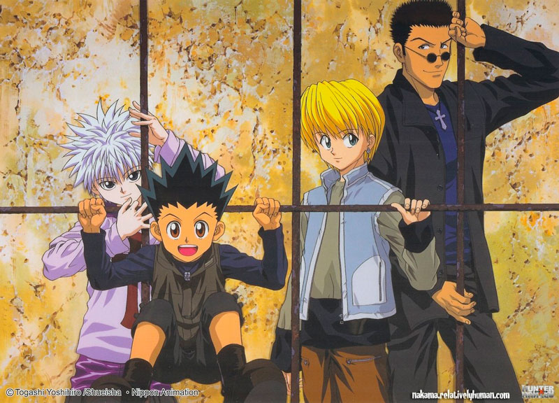 Illustration from Hunter x Hunter 8