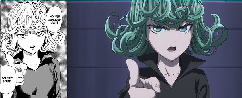 Tatsumaki in Manga and Anime (One Punch Man character)
