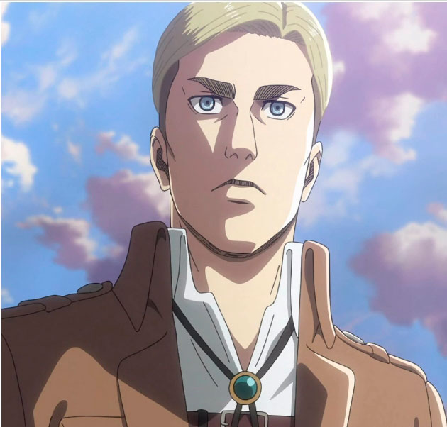 Sexiest Male Characters in Attack on Titan. Erwin Smith