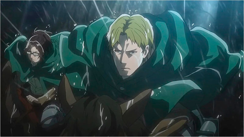 Sexiest Male Characters in Attack on Titan. Moses Braun